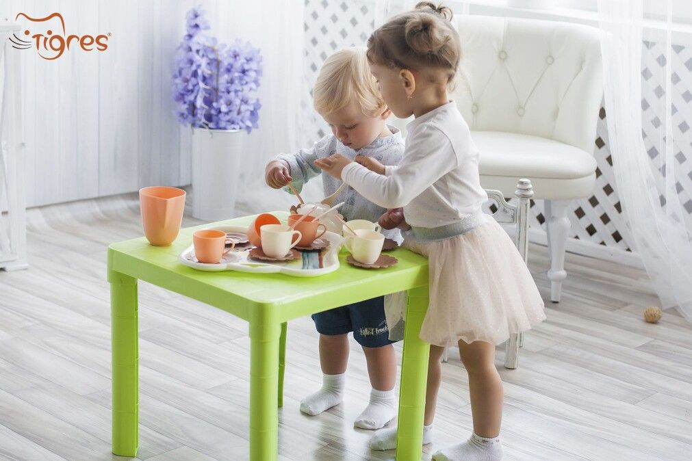Photo - Children tableware not only to play