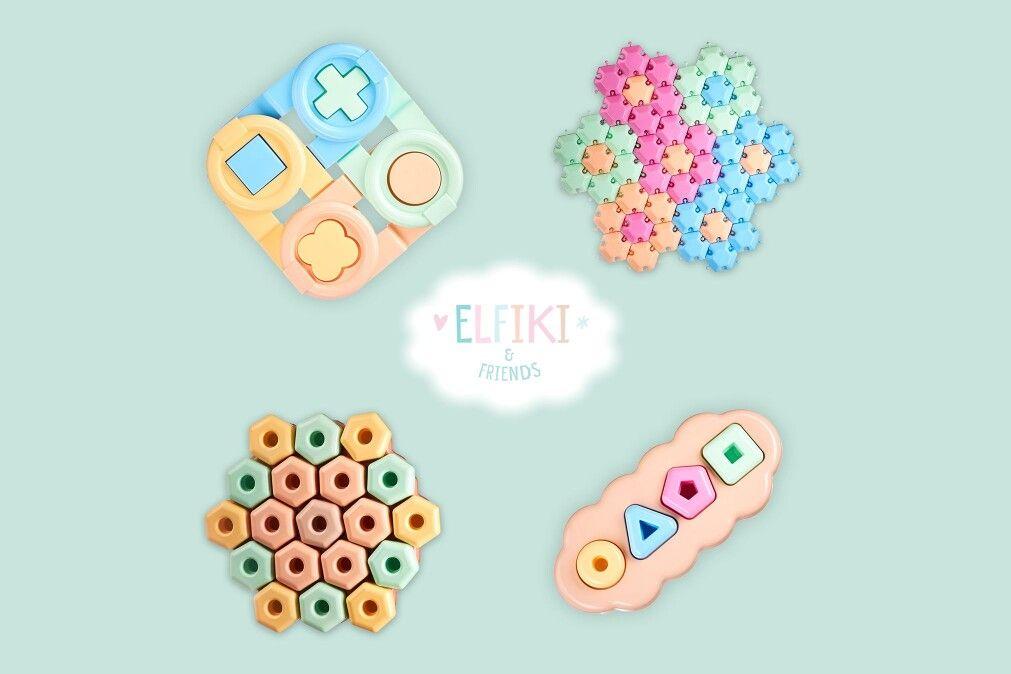 Фото - Еко іграшки «ELFIKI end friends» - дбаємо про безпеку дітей та навколишнє середовище.