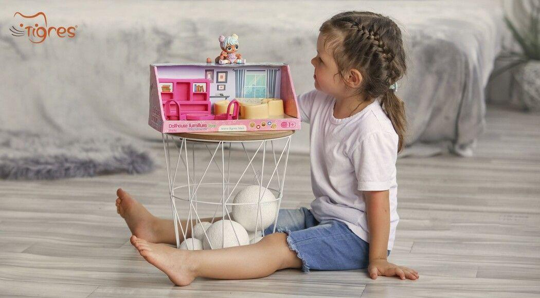Фото - Іграшкові меблі для ляльок  – затишок у домі з дитинства