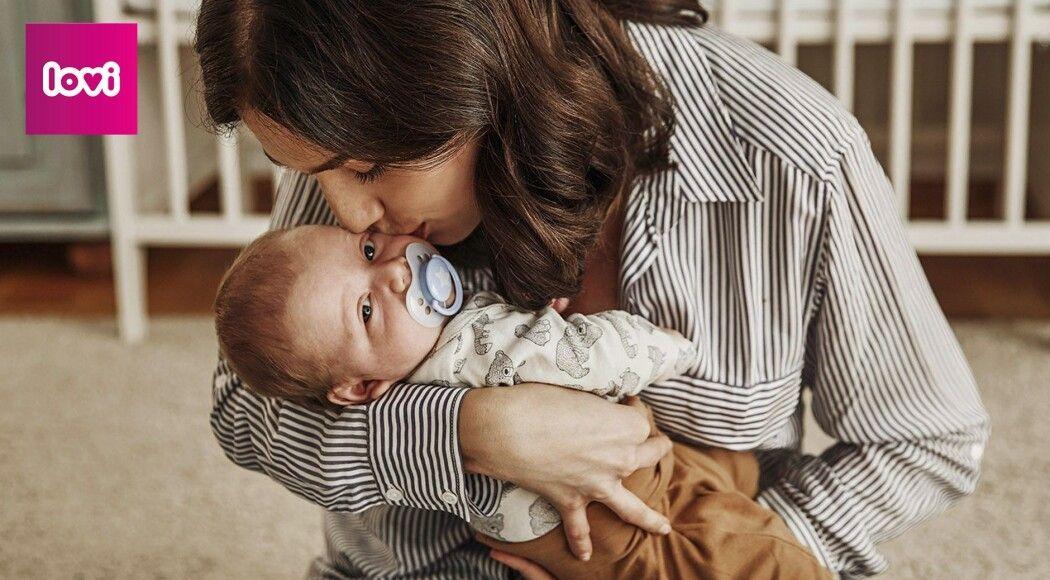 Фото - Динамічна пустушка LOVI для правильного розвитку малюка