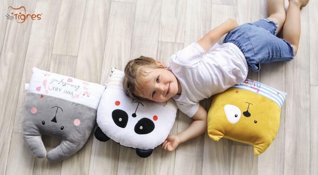 Фото - Подушки-іграшки для комфорту та інтер'єру в дитячій кімнаті