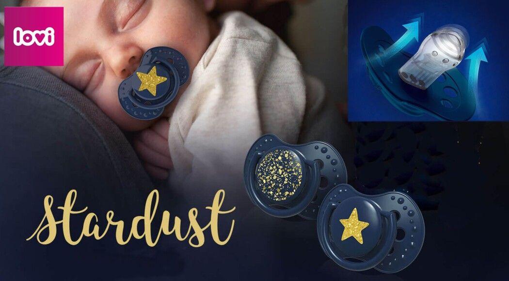 Фото - Колекція пустушок Stardust створена для заспокоєння крихітки та довершеного образу на перших урочистих подіях