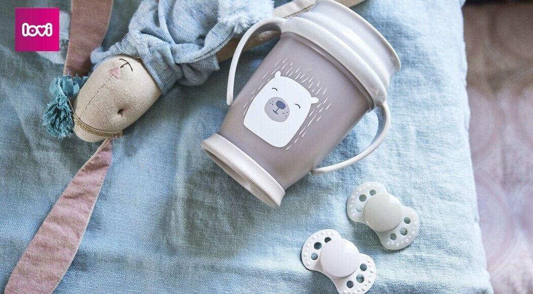 Фото - Кружки-непроливайки LOVI - вчимо малюка пити самостійно
