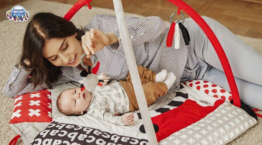 Фото - Розвиваючий килимок Canpol babies для гармонійного розвитку малюка