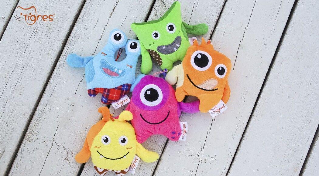 Фото - «Монстрики» - прикраса на рюкзак для стильних малюків