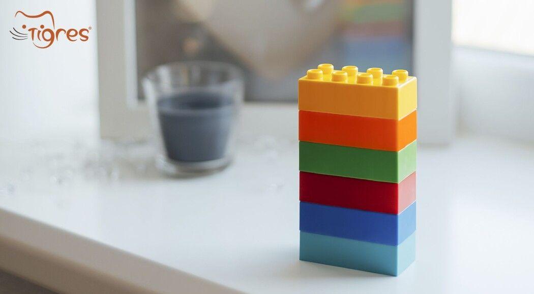 Фото - Цеглинка за цеглинкою:  за допомогою конструктора та технології «Шість цеглинок» діти навчаються у грі!