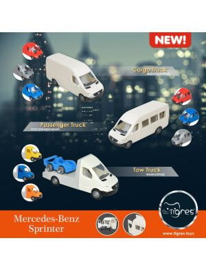 Фото - Презентация лицензионной серии автомобилей Mercedes-Benz Sprinter