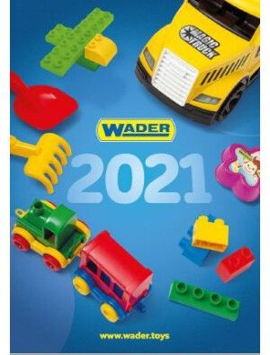 Фото - Каталог пластмасової іграшки ТМ Wader 2021