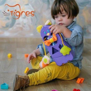Фото Tigres пластмассовая игрушка №1