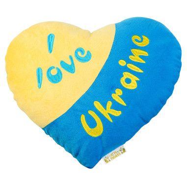 Подушка-серце (Я люблю Україну)