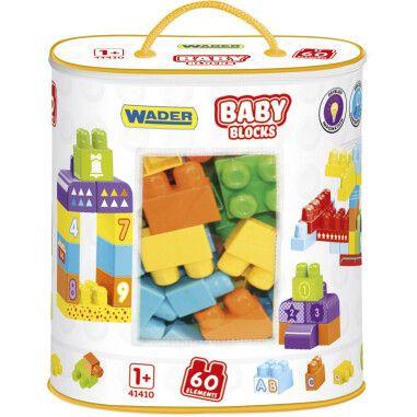 """""""Baby Blocks"""" Мої перші кубики - 60 шт (в сумці)"""
