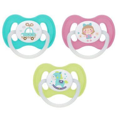 Canpol babies Пустушка силіконова симетрична 0-6 м-ців Toys
