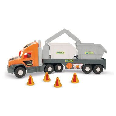 """""""Super Tech Truck"""" з будівельними контейнерами"""