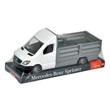 "Автомобіль ""Mercedes-Benz Sprinter"" бортовий (білий) на планшетці, Tigres"