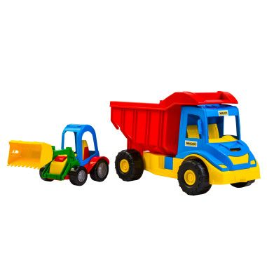 """""""Multi truck"""" вантажівка з трактором"""
