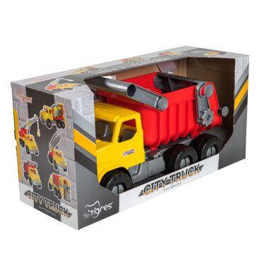 """Авто """"City Truck"""" самоскид в коробці"""