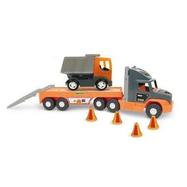 """Super Tech Truck"" з вантажівкою"
