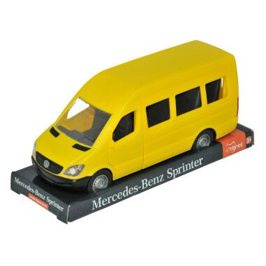 "Автомобіль ""Mercedes-Benz Sprinter"" пасажирський (жовтий) на планшетці, Tigres"