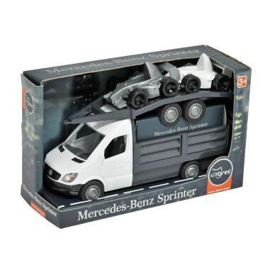 """Автомобіль """"Mercedes-Benz Sprinter"""" бортовий з лафетом (білий), Tigres"""