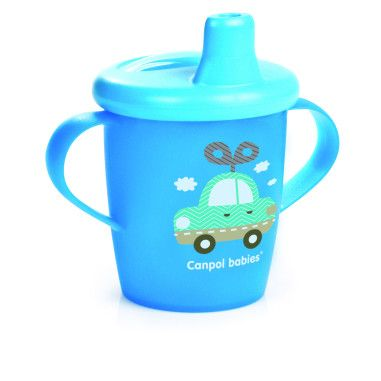Кружка непроливайка 250 мл - Toys синя