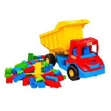 """Multi truck"" грузовик с конструктором"