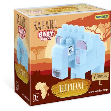 """Baby Blocks"" конструктор Сафарі - слон"