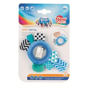 Canpol babies іграшка плюшева на руку з дзеркалом 0+ Zig Zag