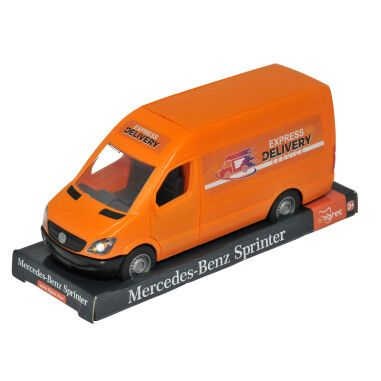 """Автомобіль """"Mercedes-Benz Sprinter"""" вантажний (помаранчевий) на планшетці, Tigres"""