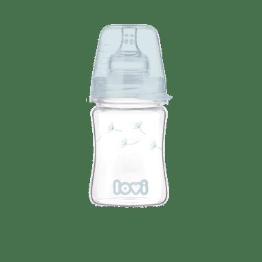 LOVI Пляшечка скляна Diamond Glass 150 мл Botanic