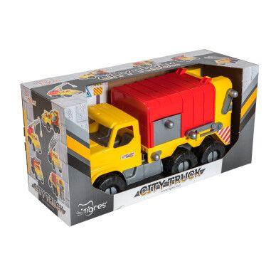 """Авто """"City Truck"""" сміттєвоз в коробці"""