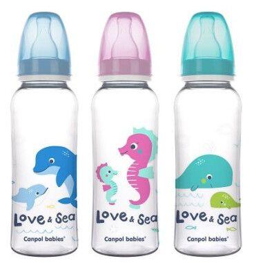 Canpol babies пляшка 250 мл PP LOVE&SEA