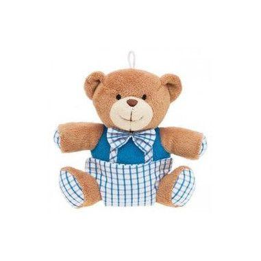 Іграшка плюшева з пищалкою Ведмедик