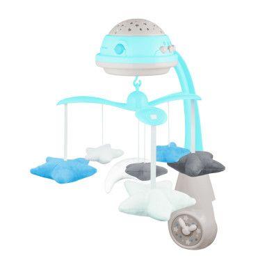 Canpol babies Карусель музична електрична з проектором - блакитна