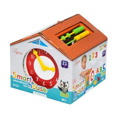"""Іграшка-сортер """"Smart house"""" 21 ел. в коробці, Tigres"""