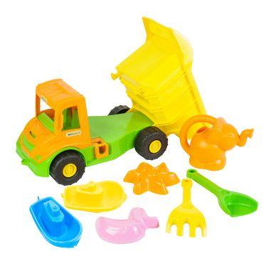 """""""Multi truck"""" вантажівка з набором для піску з лійкою 8 ел."""