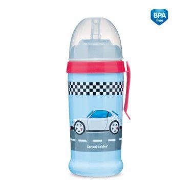 Бідончик непроливайка - Racing - машини (темно-синій)