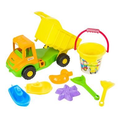 """""""Multi truck"""" вантажівка з набором для піску 8 ел."""