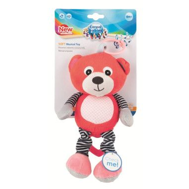 Canpol babies іграшка плюшева музична BEARS 0+