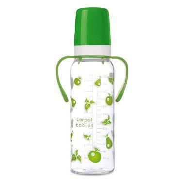 Пляшка 250 мл з ручкою (BPA FREE)
