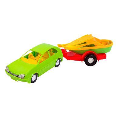 Авто-купе з причепом