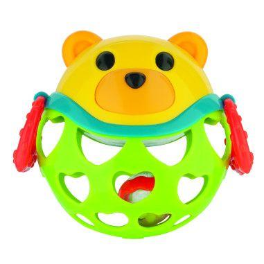 Canpol babies Іграшка з брязкальцем інтерактивна Зелений Ведмедик