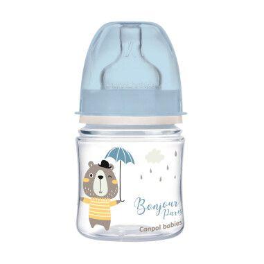 Canpol babies Пляшка антиколікова з широким отвором 120 мл PP Easystart Bonjour Paris