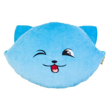 """Подушка """"Кішка-смайл"""" (45 см) - хитрий"""