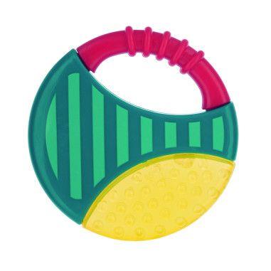 Canpol babies Погремушка-зубогрызка с водой Геометрическая