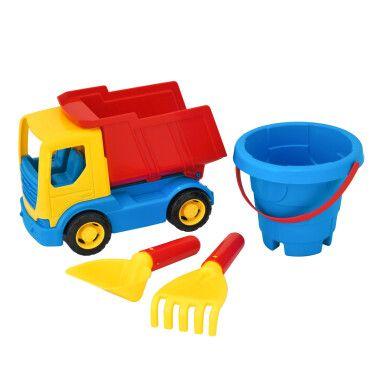 """Авто """"Tech Truck"""" з набором для піску 4 ел., Tigres"""