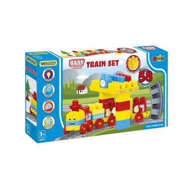 """""""Baby Blocks"""" залізниця 2,24м - 58ел."""