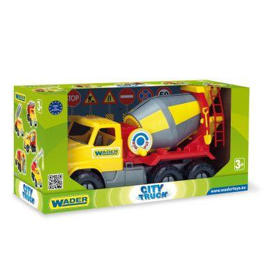 """Авто """"City Truck"""" бетонозмішувач в коробці"""