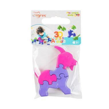 Іграшка розвиваюча: 3D пазли Тваринки (1шт.)