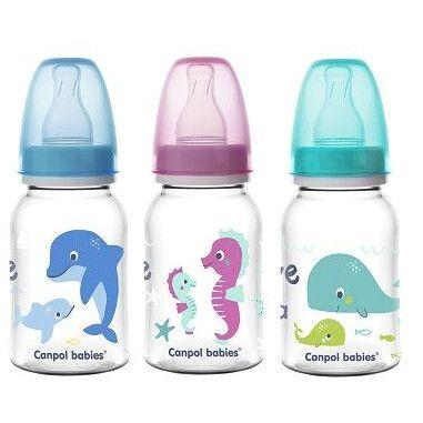 Canpol babies пляшка 120 мл PP LOVE&SEA