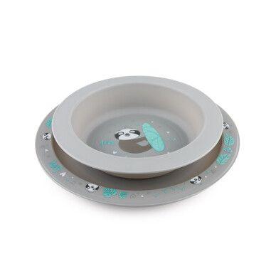 Canpol babies Набір посуду з 2х елементів EXOTIC ANIMALS